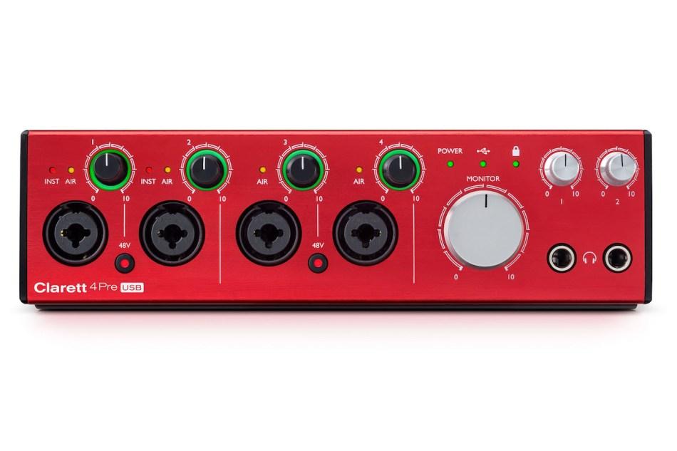 Focusrite launches three new Clarett USB audio interfaces