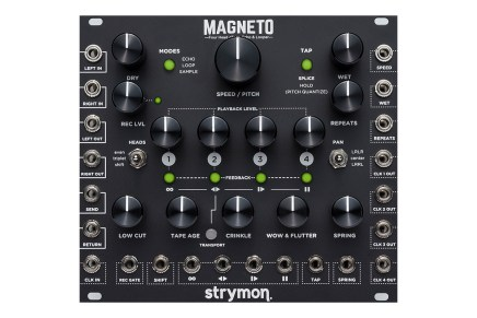 Strymon announces Magneto Tape Delay, Looper and more for Eurorack modular