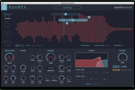 New Audio Damage Quanta Granular Software Synthesizer