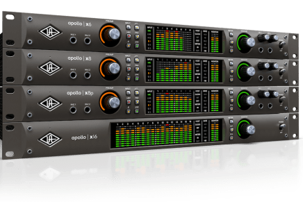 Universal Audio announces new Apollo X thunderbolt 3 audio interfaces
