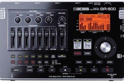 Battery-Powered Studio To Go – Boss BR-800