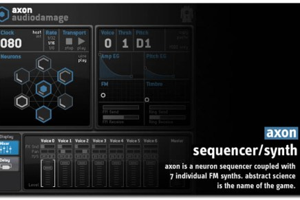 AXON from Audio Damage released