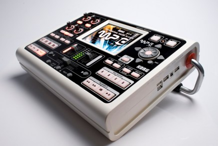 Korg now shipping MP-10 PRO professional media player