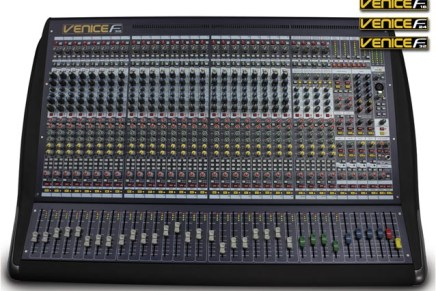 Midas introduces new VeniceF hybrid mixing desks