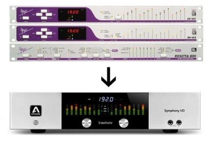 Apogee X-Series and Rosetta 800 make way for Symphony I/O