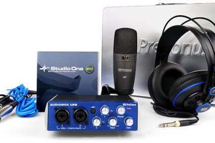 Presonus intros Production Starter Pack – 1Box