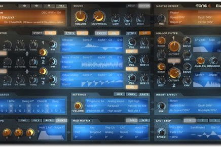 Tone2 ElectraX released