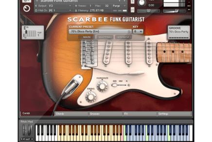 NI Releases Scarbee Funk Guitarist – Kontakt Instrument