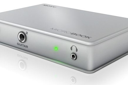 Motu Microbook USB Audio Interface released