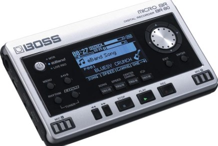 Boss MICRO BR BR-80 Digital Recorder Now Available