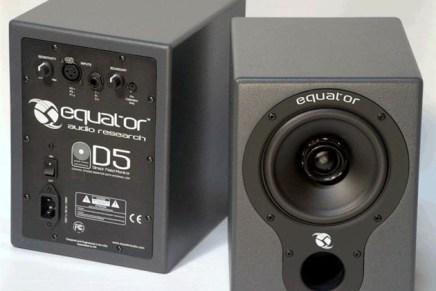 Equator Audio D5 Studio Monitors Now Available