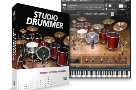 Native Instruments STUDIO DRUMMER Instrument Announced