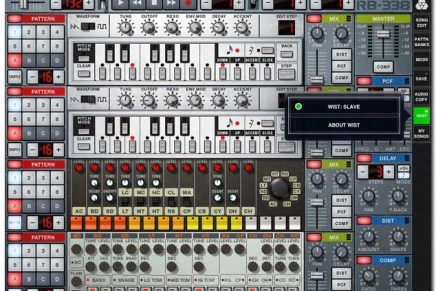 Propellerhead Adds Wireless Sync-Start to ReBirth for iPad and iPhone