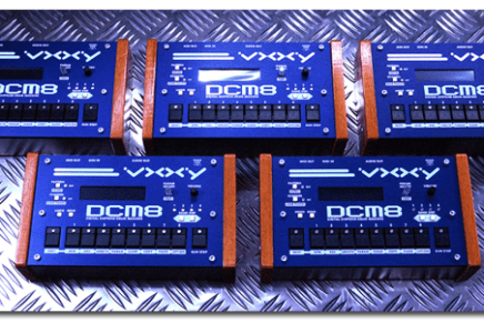 VXXY DCM8 – Dedicated Chip Tune Drum Machine