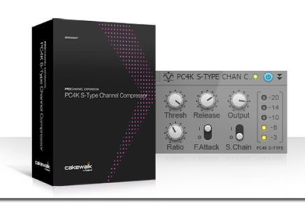 Cakewalk PC4K S Type Channel Compressor released