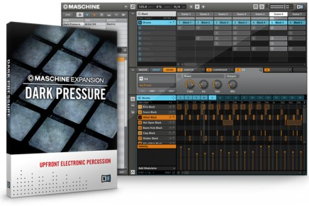 Native Instruments Introduces DARK PRESSURE Expansion for MASCHINE