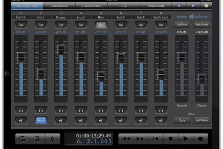 lpTouch – iPad Controller for Logic Pro