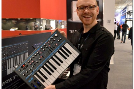 Novation Bass Station II – MusikMesse Video