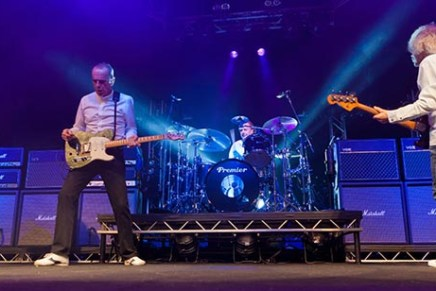 Yamaha Goes Frantic On Status Quo Reunion Tour