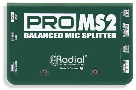 Radial Engineering introduces the Radial ProMS2