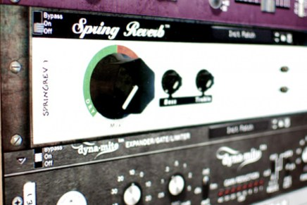 Softube Spring Reverb now availbale as Reason Rack Extension