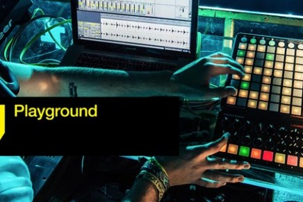Novation at the ADE 2013 Playground