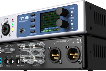 RME starts shipping MADIface XT USB3 Audio Interface