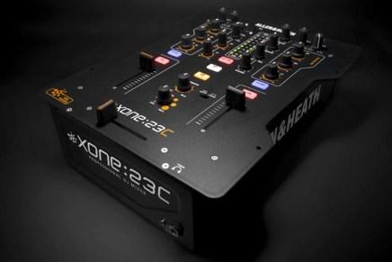 Allen & Heath introducing the Xone:23C DJ Mixer