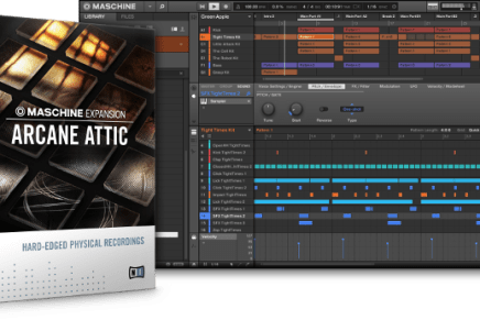 Native Instruments introduces Arcane Attic Expansion for Machine