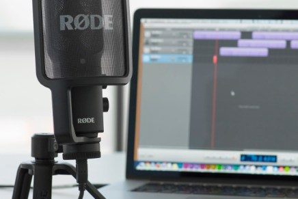 Studio quality recording on the go with the new Rode NT-USB