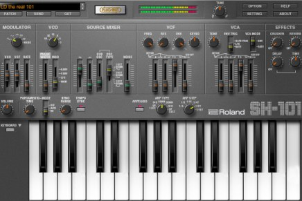 Roland releases SH-101 PLUG-OUT for SYSTEM-1