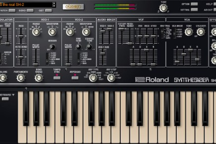 Roland unveils plug-out replica of the Classic SH-2 Synthesizer