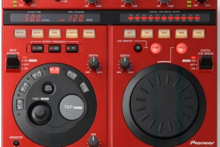 Pioneer announce EFX-1000 and a EFX-500-R limited edition
