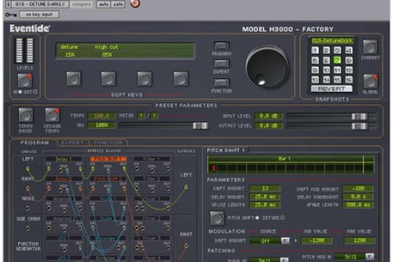 Eventide announces H3000 TDM Factory plug-in