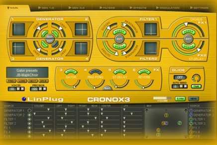 LinPlug announces the CronoX3