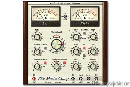 PSP Audioware releases MasterComp dynamics plugin