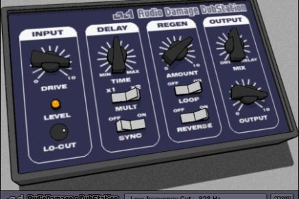 Audio Damage releases Dubstation – delay plugin