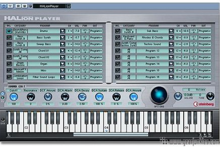 Steinberg releases update 3.2.0.1305 for Halion Player