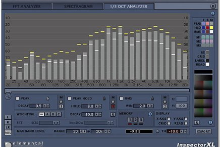 Elemental Audio updates Inspector XL