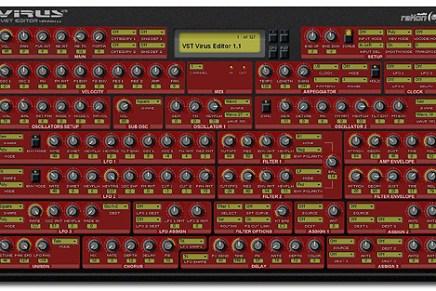 reKon Audio releases VST Virus A editor