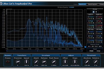 Blue Cat Audio has released FreqAnalyst Pro