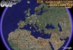 James Bond in Google Earth