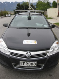 Street View car in New Zealand