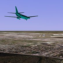 3d plane tracking in Google Earth