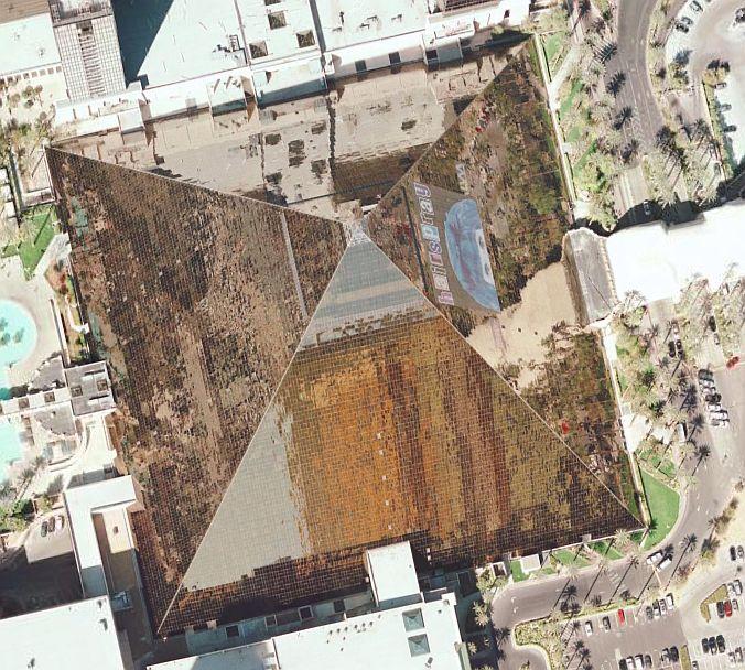 High resolution Las Vegas in Google Earth