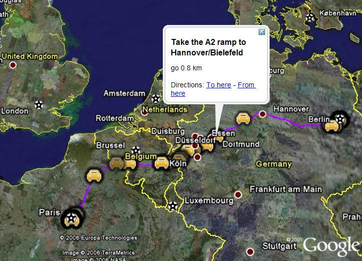 Directions for Europe Now in Google Maps Google Earth   Google Earth     Part