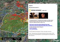 National Geographic Ivory Wars - Elephant poaching in Google Earth