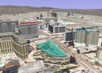 New 3D Buildings in Las Vegas in Google Earth