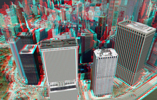 New York City in Stereo 3D