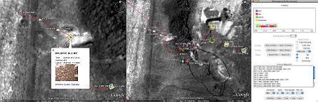 NASA Robotic Recon with Google Earth